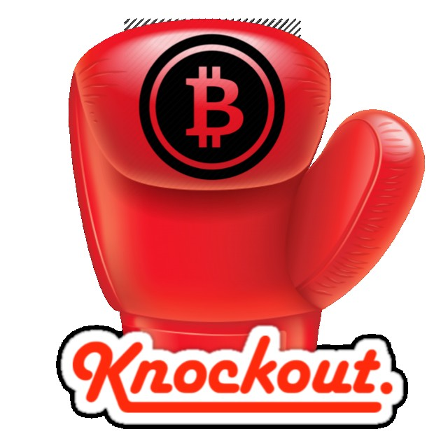Image result for bitcoin knockout
